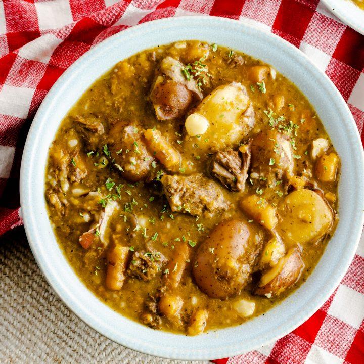 Instant Pot Autumn Beef Stew