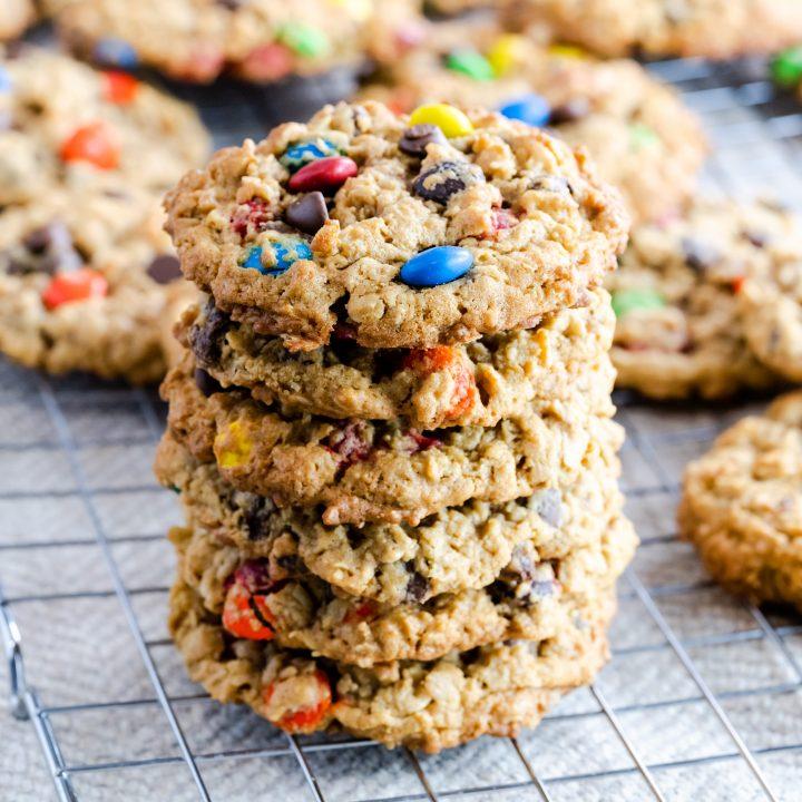 Monster Cookies (Gluten Free & Nut Free)
