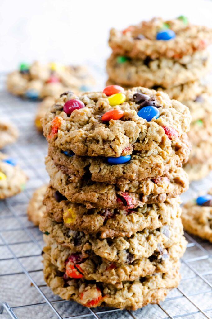 gluten free peanut free monster cookies