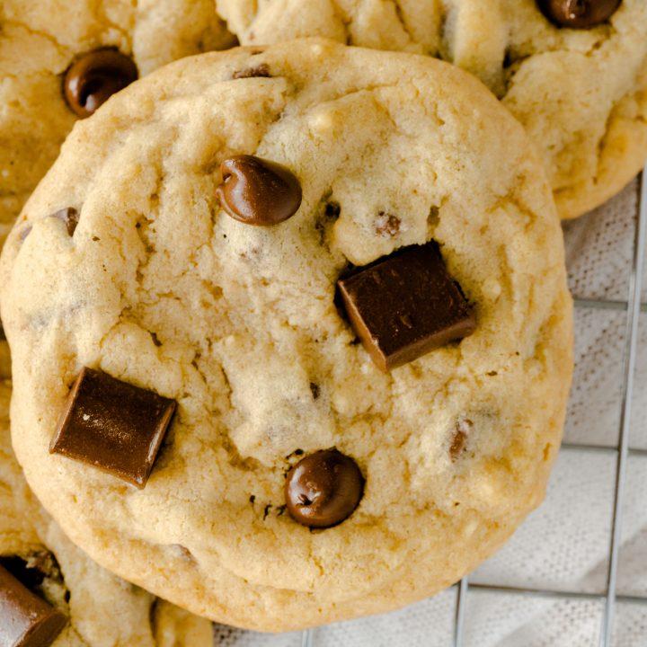 Soft Batch Chocolate Chip Chunk Cookies