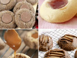 Thumpbrint Cookies Recipes