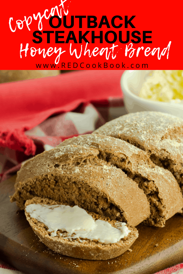 This honey wheat bread is an Outback Steakhouse Copycat recipe that is made in the comfort of home and has the same wonderful texture as the famous restaurant.    #honeywheat #bread #wholewheat #copycat #outbacksteakhouse #breadrecipe #intantpot #bakingbread #baking #copycatrecipe
